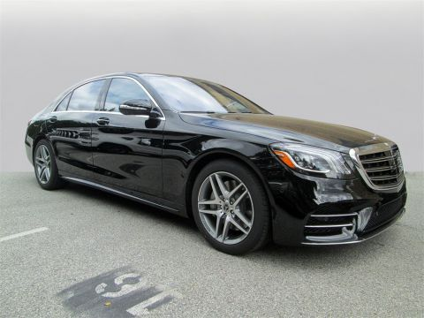 New 2020 Mercedes-Benz S-Class S 450 4MATIC® 4D Sedan