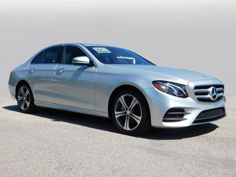 Certified Pre-Owned 2017 Mercedes-Benz E-Class E 300 4MATIC® 4D Sedan